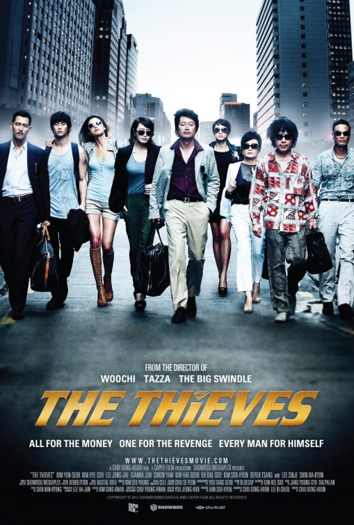 The Thieves (aka Dodookdeul) Movie Poster (#2 of 9) - IMP Awards