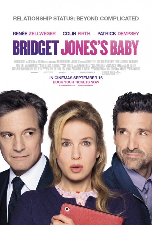 Image result for bridget jones's baby movie poster