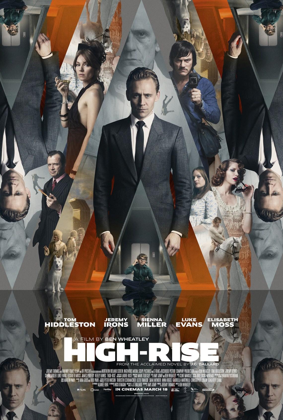 High-rise film Poster via impawards.com