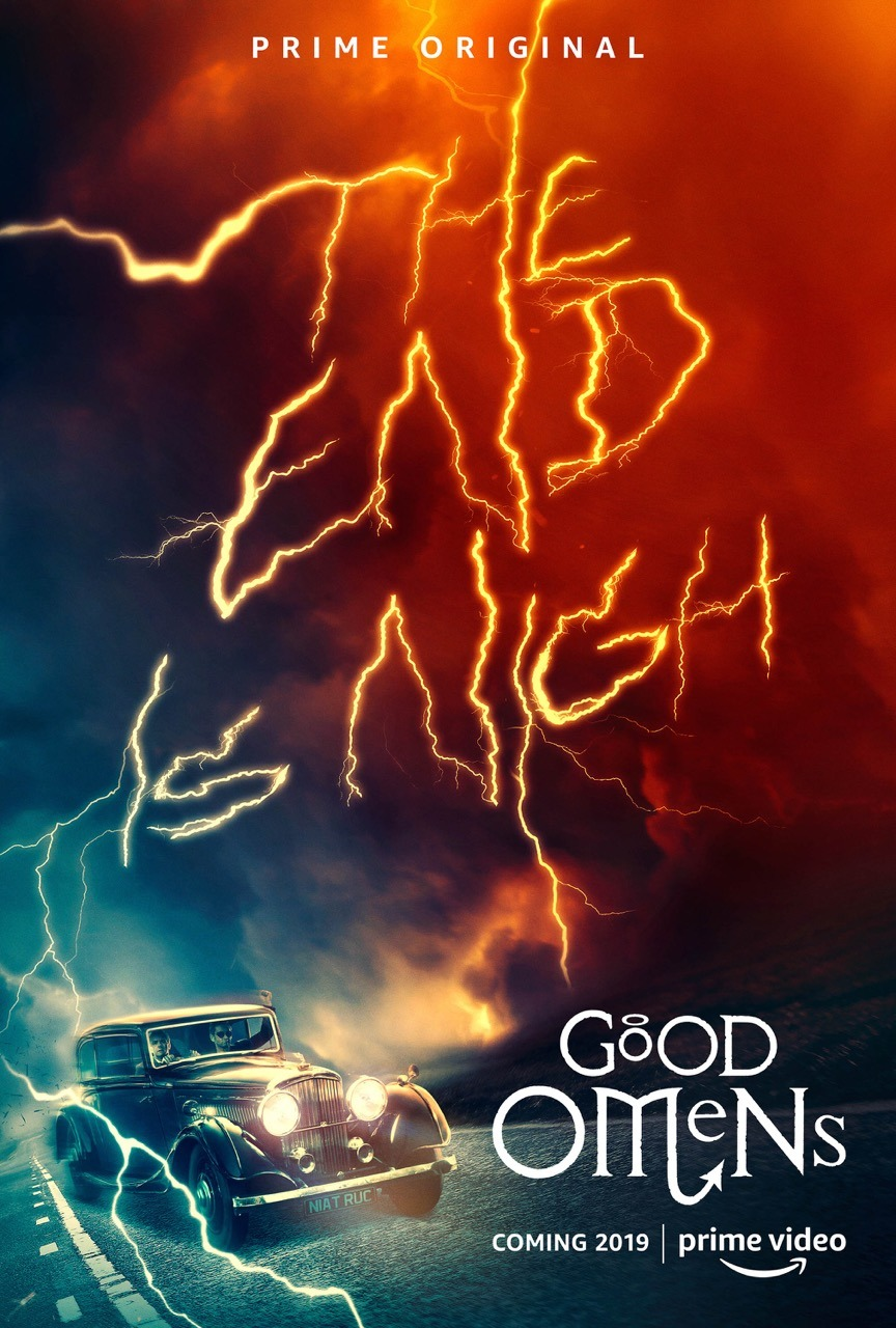 Extra Large Movie Poster Image for Good Omens