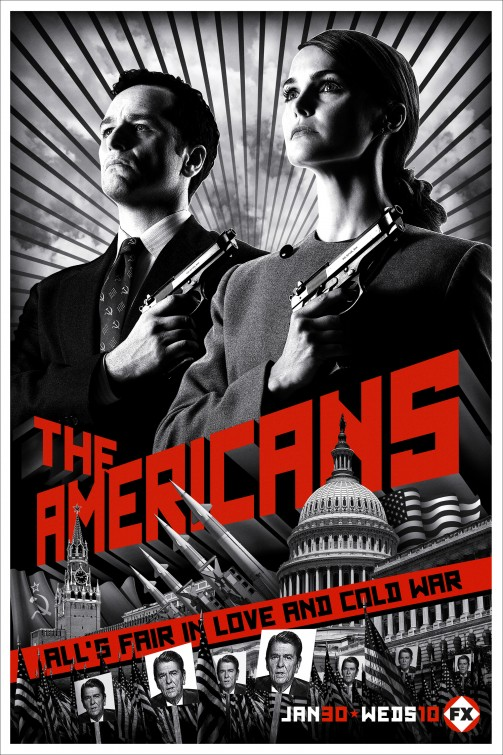 Image result for the americans poster