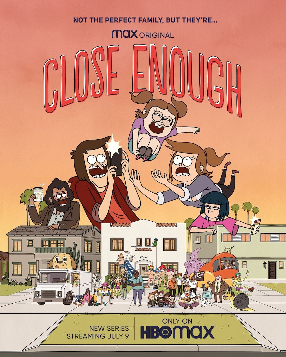 Extra Large Movie Poster Image for Close Enough