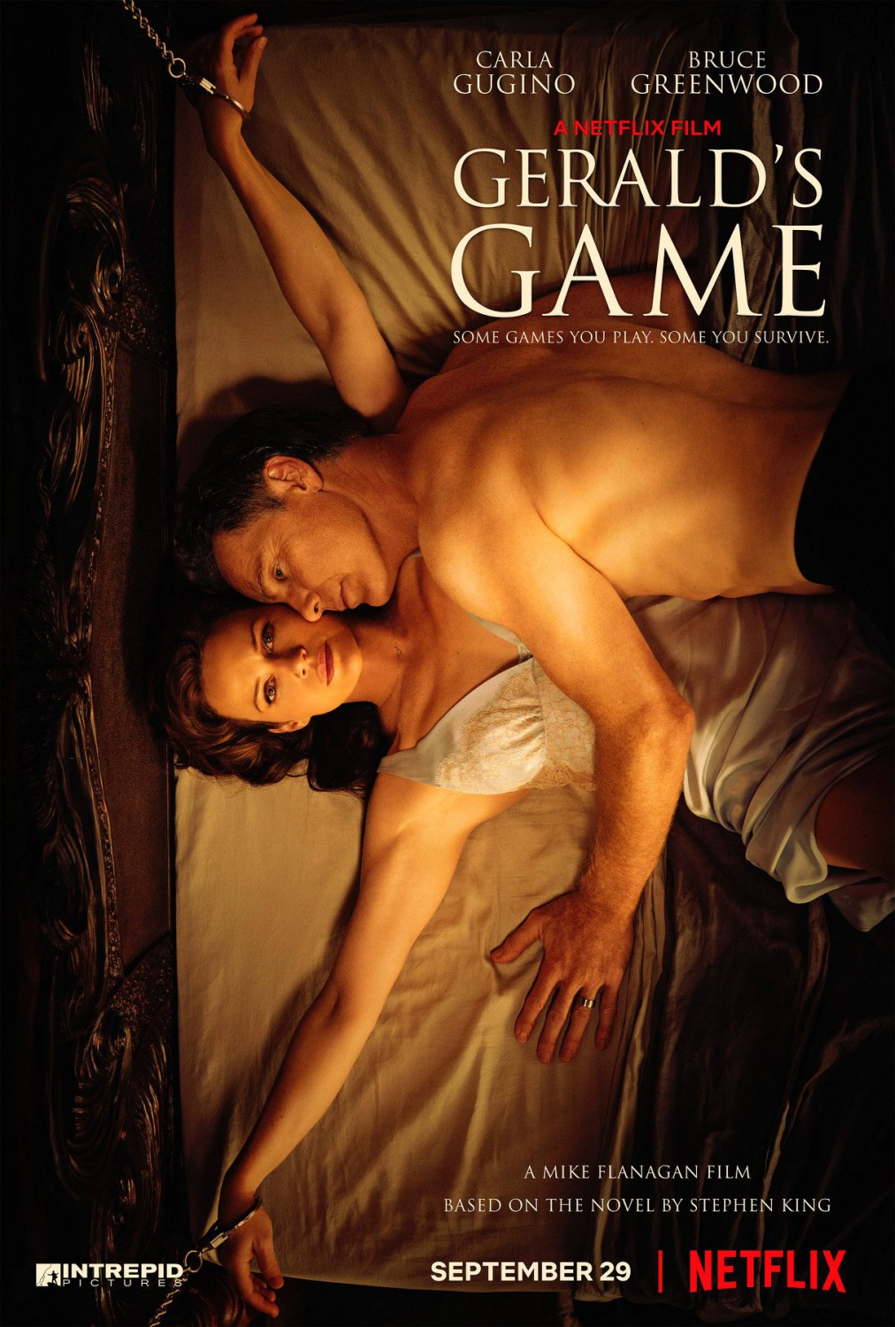 Extra Large Movie Poster Image for Gerald's Game