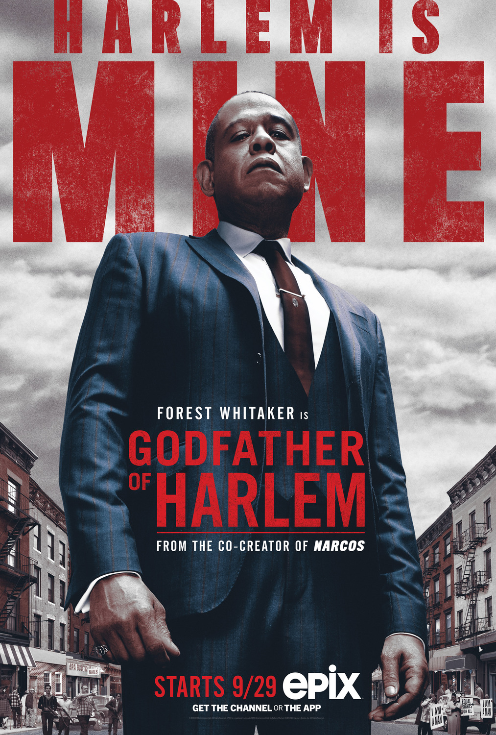 Extra Large Movie Poster Image for Godfather of Harlem
