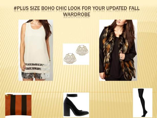 image of plus size boho chic look from keaton row