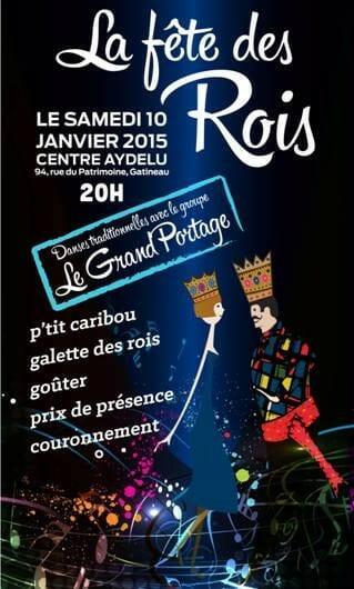 Fête des Rois - Affiche 2015