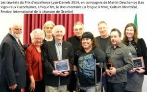 Lauréats 2014