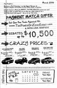 Renfrew Chrysler Ad