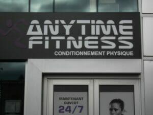 Anytime Fitness - rue Eddy