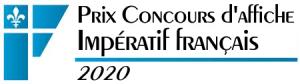 Prix Concours d'affiche Impératif français 2020