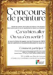 Concours de peinture Impératif français 2021