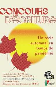 Concours d'écriture Impératif français 2021