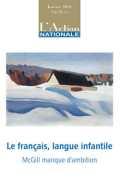 Le français, langue infantile