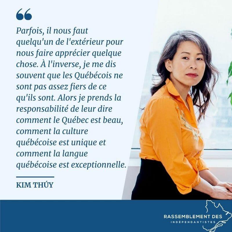 Le Québec est beau - Kim Thúy
