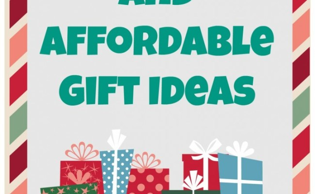 Unique And Affordable Gift Ideas For Every Occasion