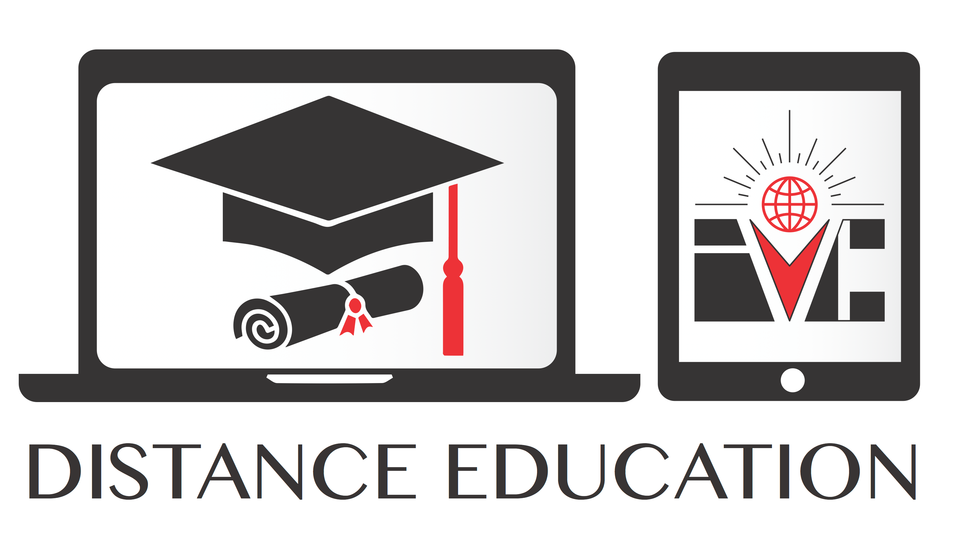 What is distance learning through Blackboard