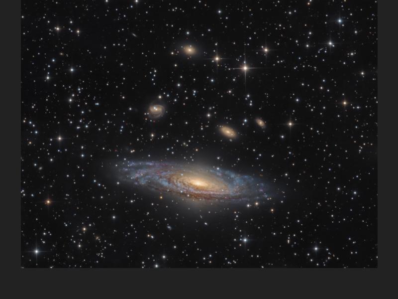 NGC 7331 – The Deer Lick Group