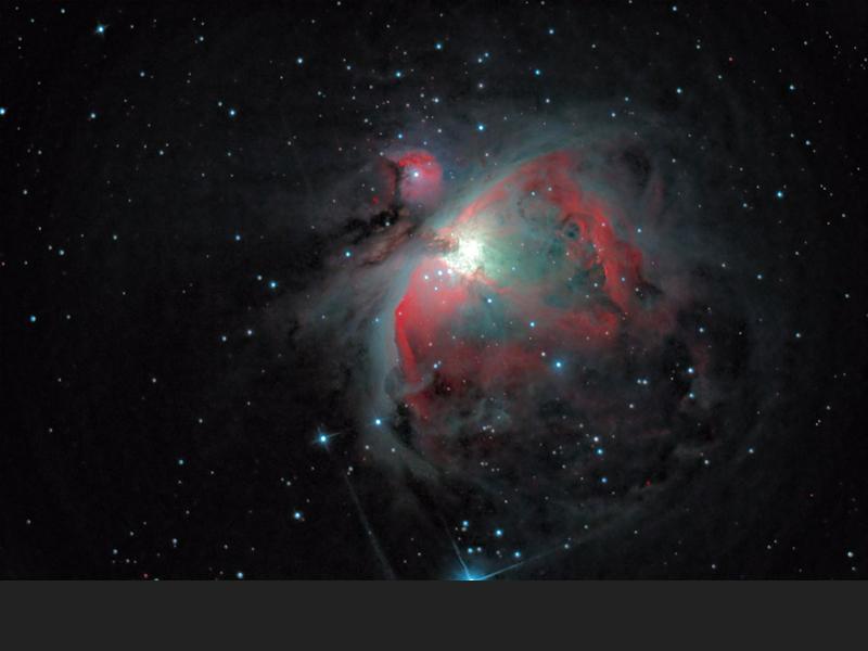 Orion's Gaseous Nebula