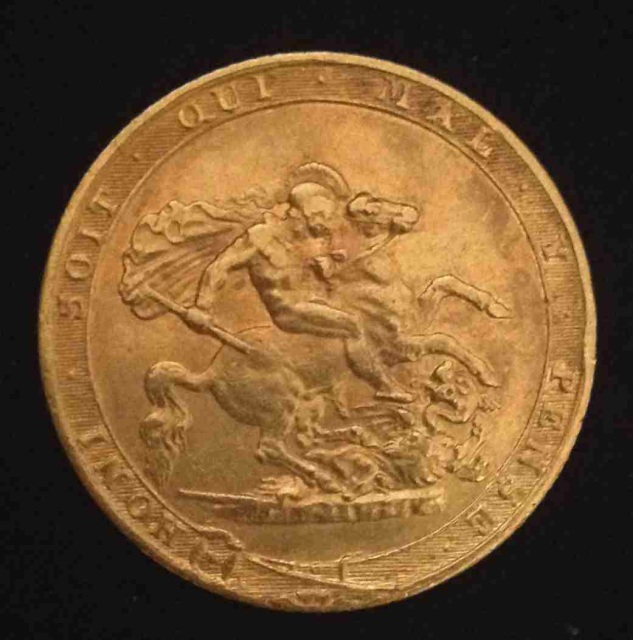 1817 King George III Sovereign SOLD