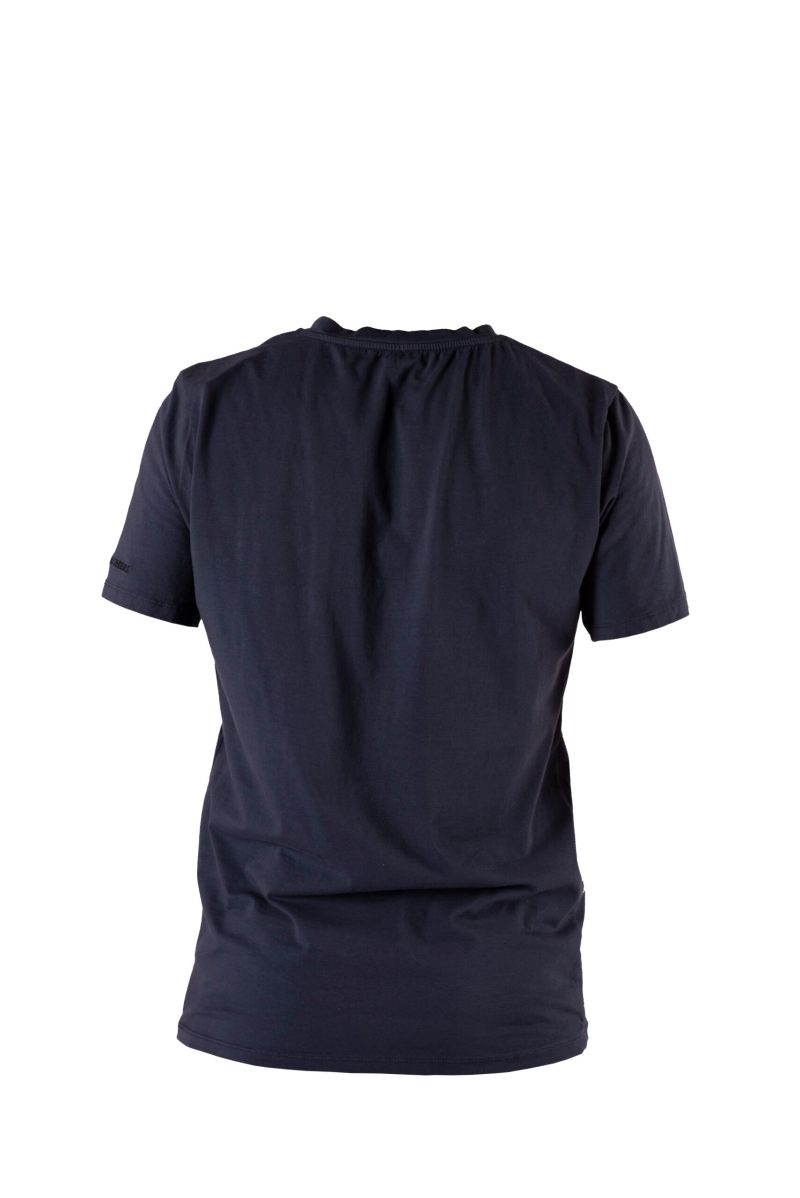 back t-shirt blu navy imperiale bolgheri