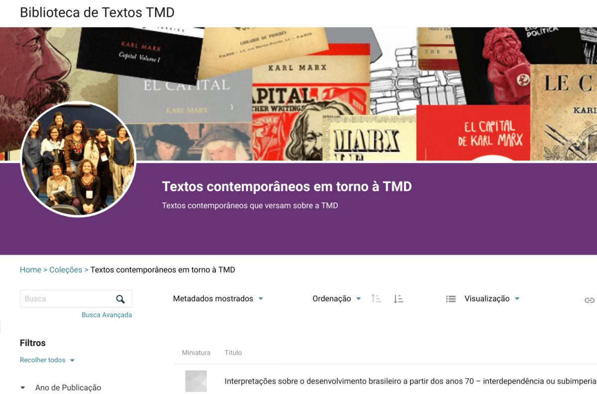 Nova Biblioteca Coletiva TMD