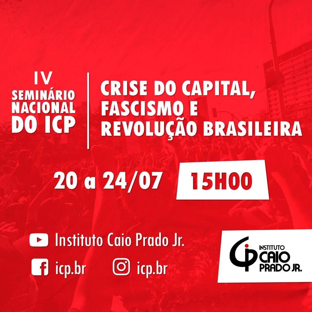 Crise do capital, fascismo e a revolução brasileira – inscrições abertas