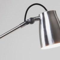 Luxo Spotlight Floor Lamp Aluminium - Imperial Lighting
