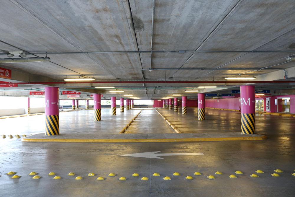 parking garage lighting services