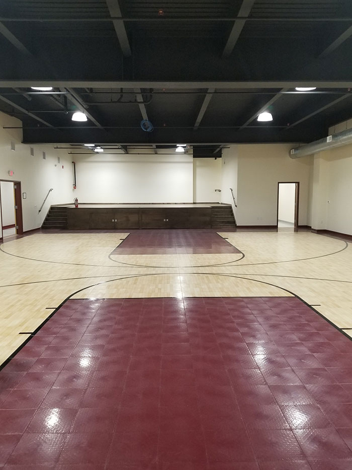 Gym Paint Floor