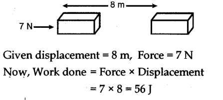 Energy and Work NCERT Solutions for Class 9th Science
