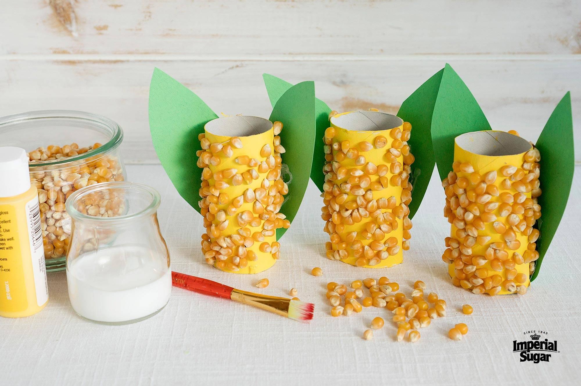 Corn Cob Craft