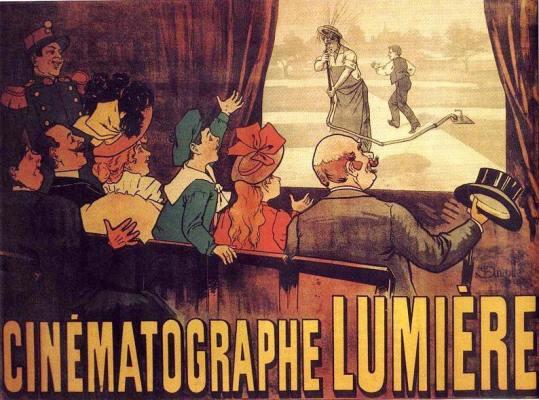 """Affiche du film """"L'arroseur arrosé"""" (1896)"""