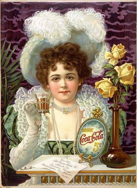Publicité de Coca-Cola en 1890