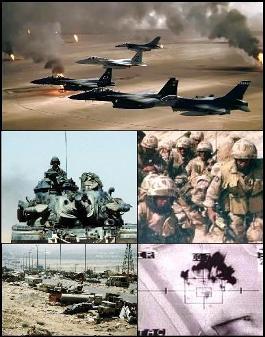 Militaires pendant la Guerre du Golfe (1990-1991)