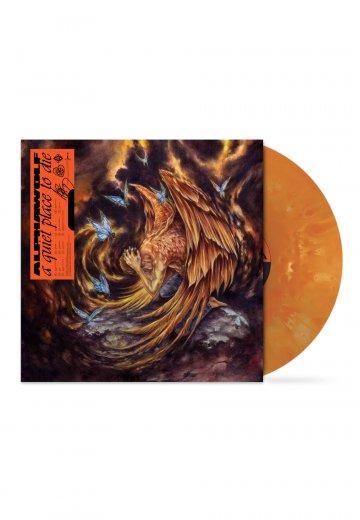 Alpha Wolf - a quiet place to die Cloudy Orange - Colored LP - Official Djent Merchandise - Impericon.com UK