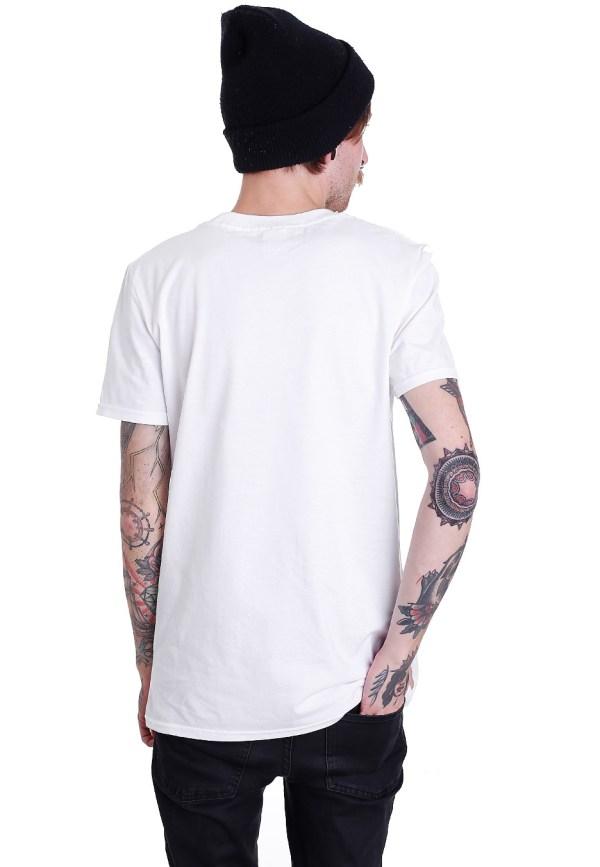 Thrice - Ribbon White T-shirt Offizieller Melodic