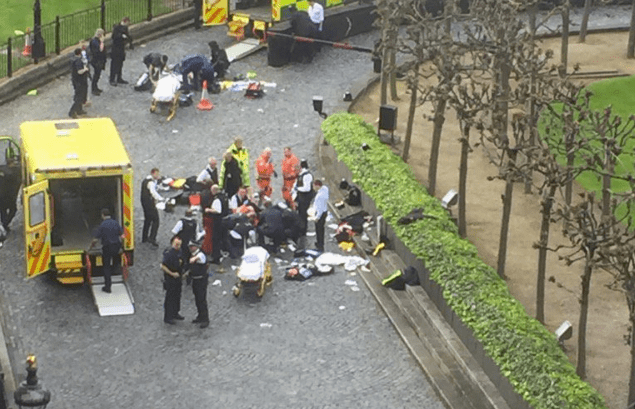 Five dead and 40 injured in London terror attack