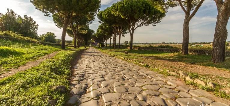 La Vía Apia, el más famoso de los caminos a Roma