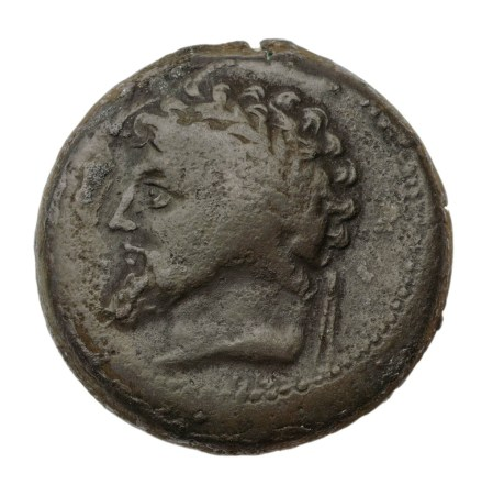 Fotografía de una moneda numida.