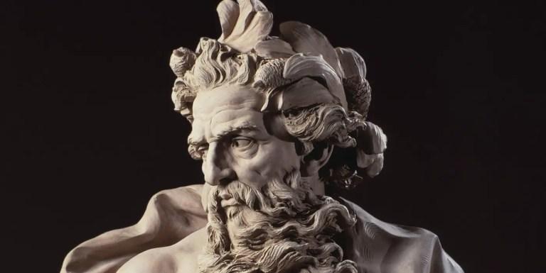 Poseidón, el dios griego del mar, las tormentas y los terremotos
