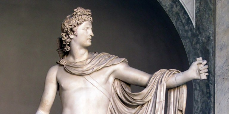 Apolo, el dios griego del sol, la luz, la medicina y la profecía