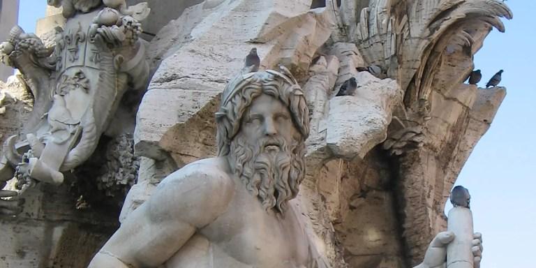Zeus, el dios del trueno y el rey de los dioses griegos