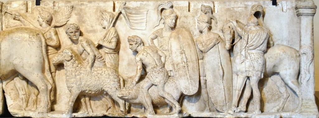 Altar de los Domicios Enobarbos.