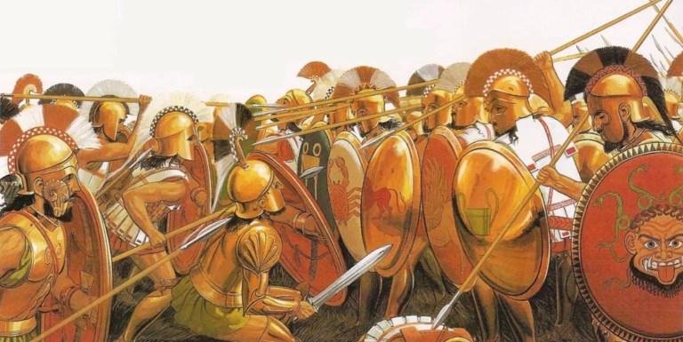 Los escudos de los soldados romanos durante la Monarquía romana