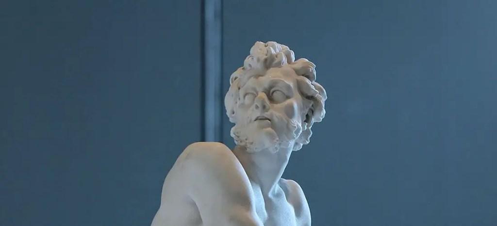Estatua de Efesto.