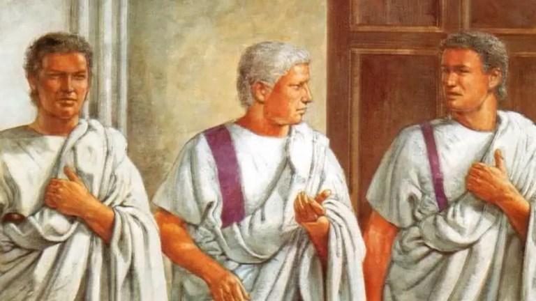 El estatus social y la vestimenta en Roma