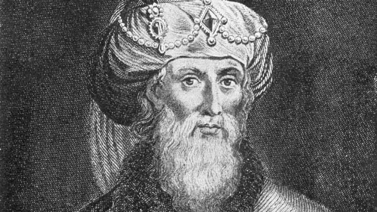 Retrato de Flavio Josefo.