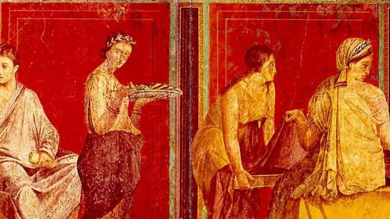 Las mujeres romanas.