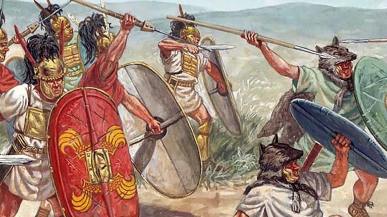 Ejercito romano de la república temprana.