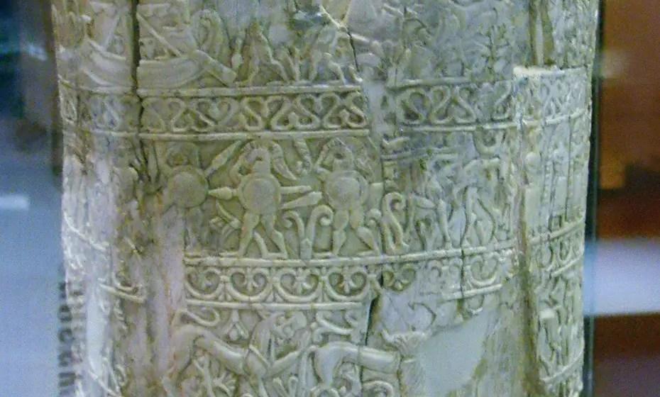 Detalle de la sítula de la Pania.